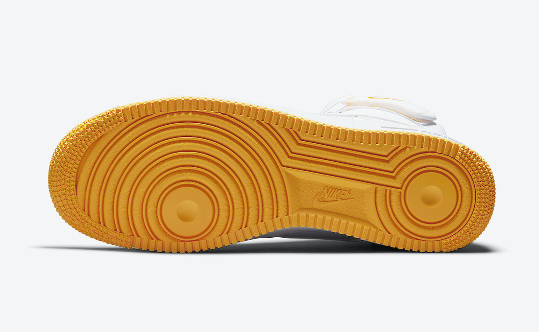 Nike Air Force 1 High Laser Orange CV1753-107 Release Date Info