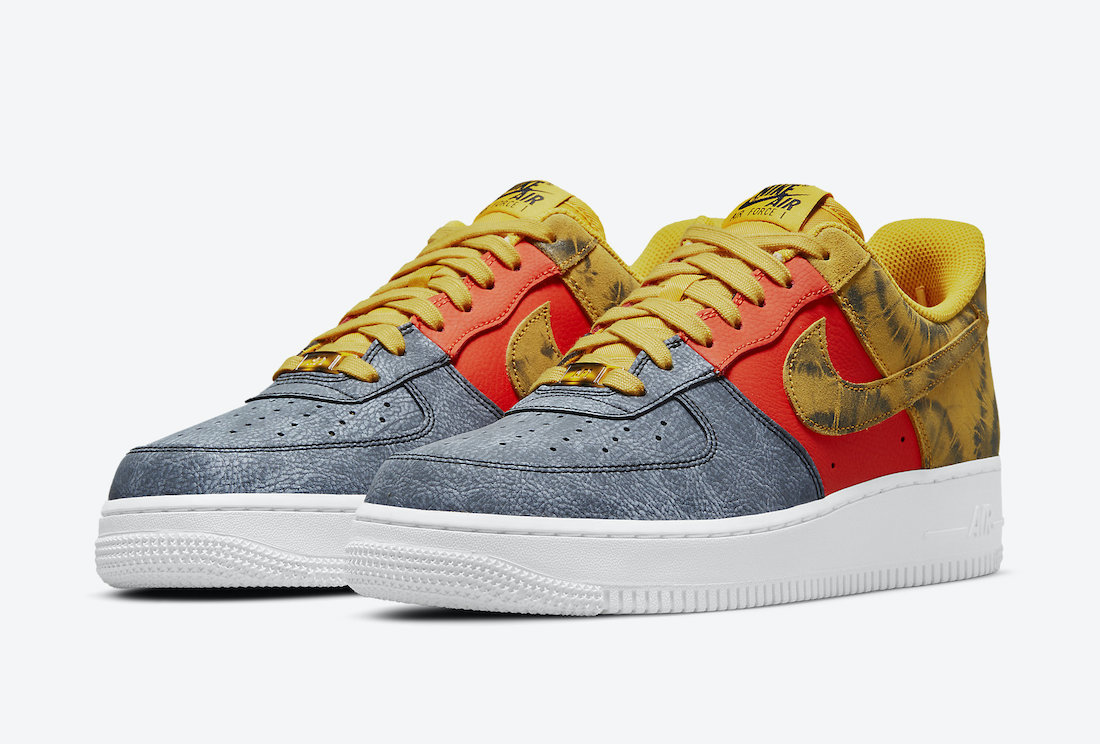 Nike Air Force 1 Low Dark Sulphur CZ0337-700 Release Date Info