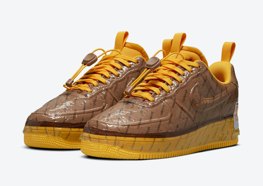 Nike Air Force 1 Low Experimental Archaeo Brown CZ1528-200 Release Date Info