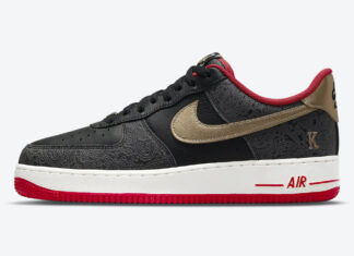 Nike Air Force 1 Low Spades King Queen DJ5184-001 Release Date Info