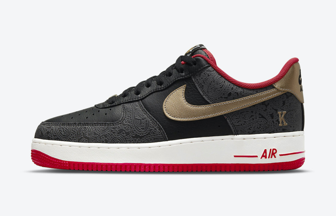 Nike Air Force 1 Low 'Spades' Inspired by Playing Cards