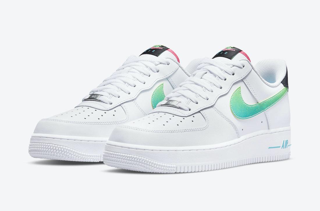 cheap nike air flow pants men jeans White Green Pink DJ5148-100 ...