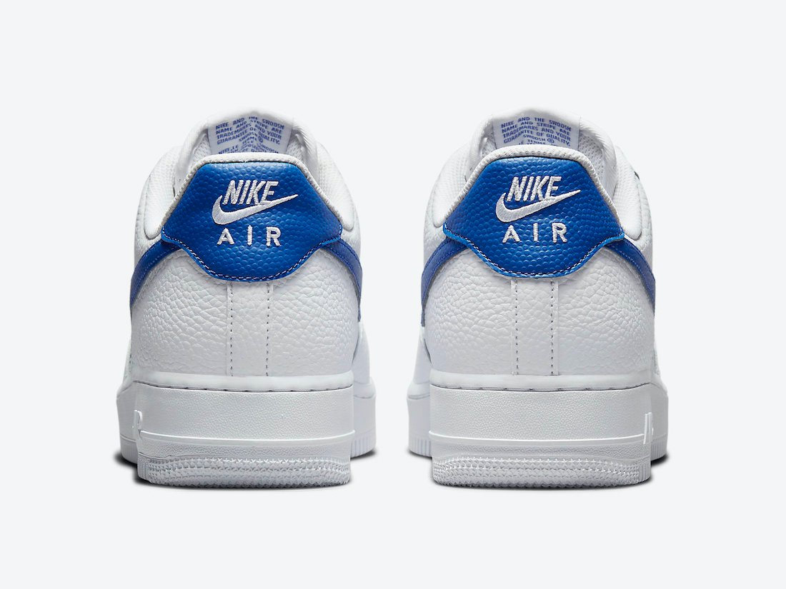 Nike Air Force 1 Low White Royal Blue DM2845-100 Release Date Info