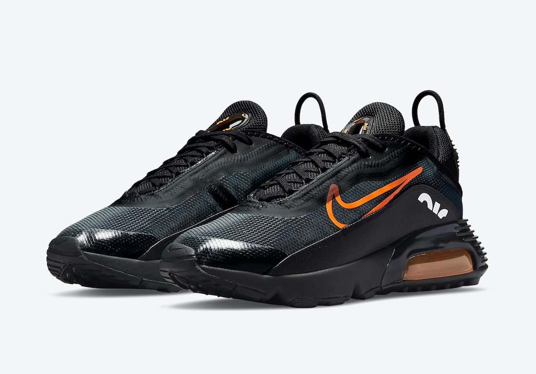 Nike Air Max 2090 Black Orange DJ6883-001 Release Date Info