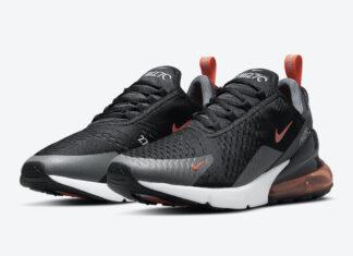 Nike Air Max 270 Black Grey Orange DM2462-001 Release Date Info