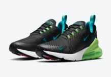 Nike Air Max 270 Black Neon Green Blue Pink DJ5136-001 Release Date Info
