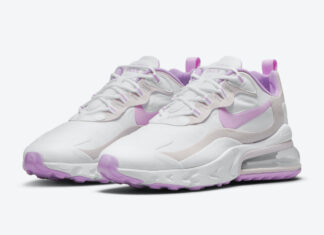 Nike Air Max 270 React White Pink CZ1609-100 Release Date Info