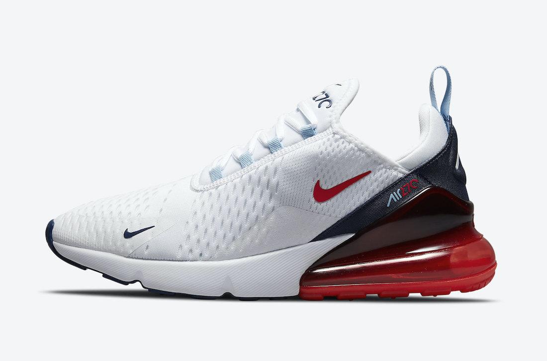 Nike Air Max 270 USA DJ5172-100 Release Date Info