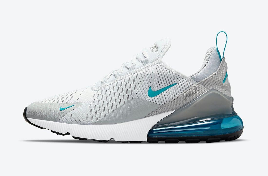 Nike Air Max 270 White Grey Blue DM2462-002 Release Date Info