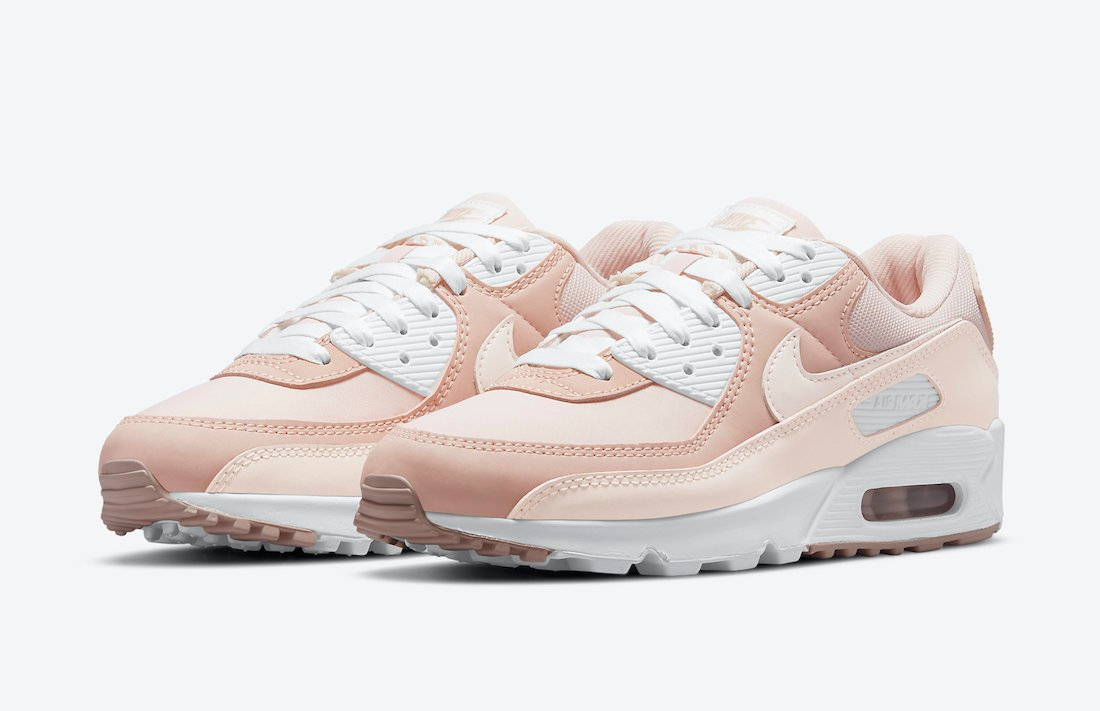 Nike Air Max 90 Barely Rose Pink Oxford DJ3862-600 Release Date ...