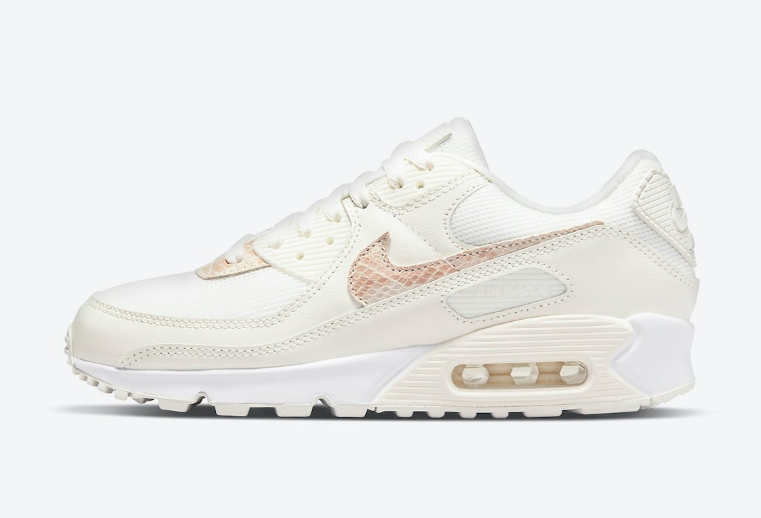 Nike Air Max 90 Beige Snake DH4115-101 Release Date Info