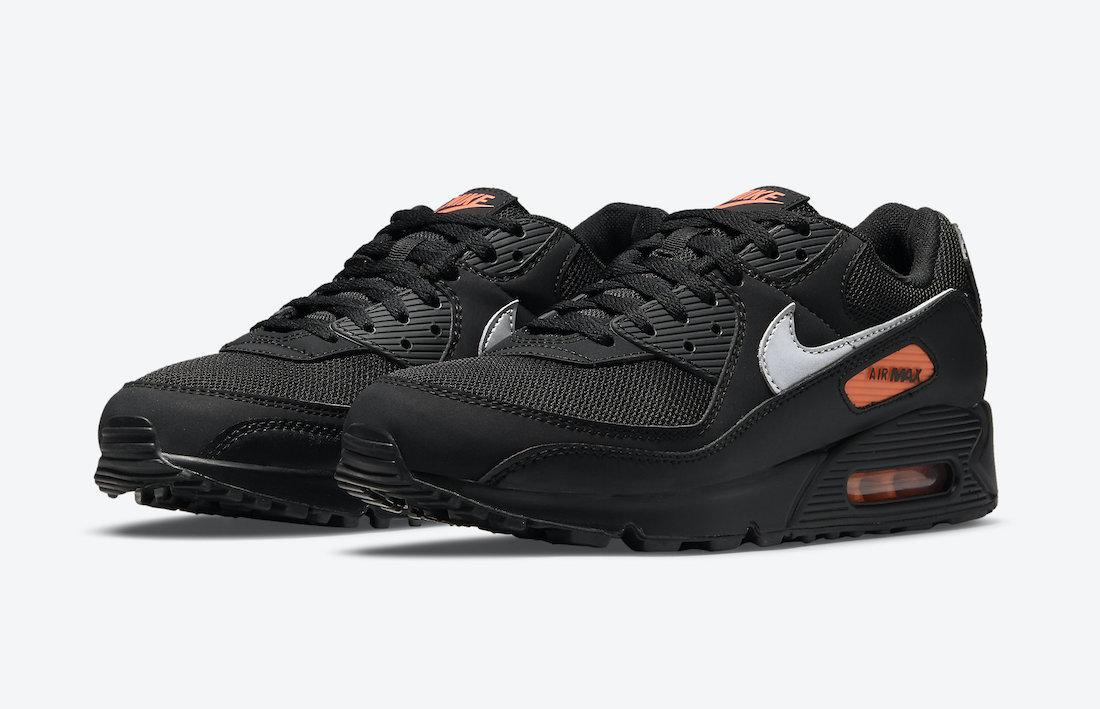 Nike Air Max 90 Black Orange DJ6881-001 Release Date Info ...