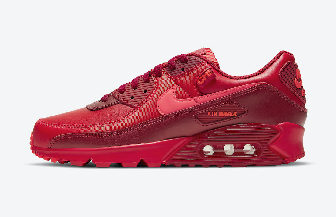 Nike Air Max 90 Chicago DH0146-600 Release Date