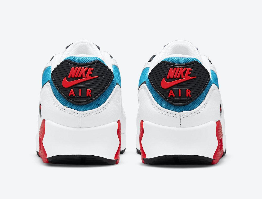 Nike Air Max 90 Firecracker DD9795-100 Release Date Info