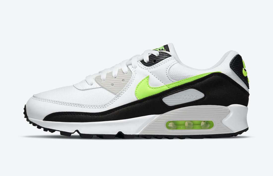 Nike Air Max 90 Hot Lime CZ1846-100 Release Date Info