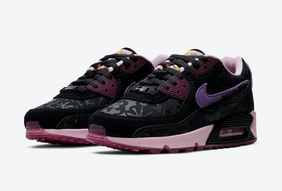 Nike Air Max 90 SE Black Arctic Pink DD5517-010 Release Date Info
