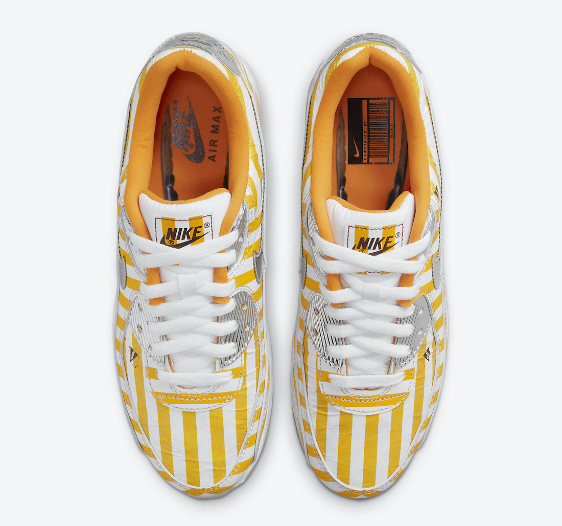 Nike Air Max 90 Swoosh Mart Fried Chicken DD5481-735 Release Date Info