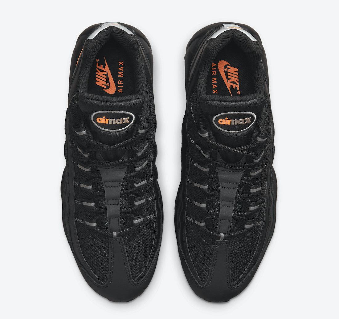 Nike Air Max 95 Black Orange DJ6884-001 Release Date Info