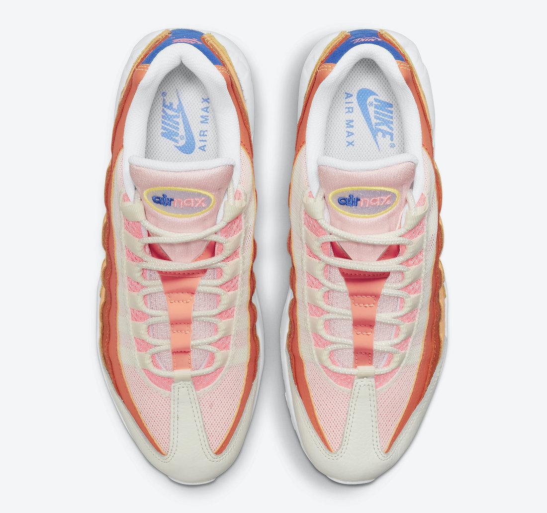 Nike Air Max 95 Campfire Orange DJ6906-800 Release Date Info