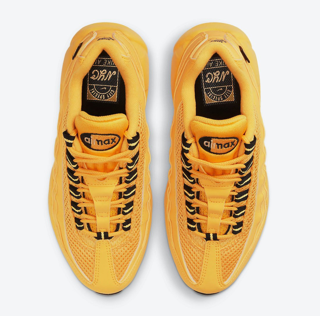 Nike Air Max 95 GS NYC Taxi DH0147-700 Release Date Info