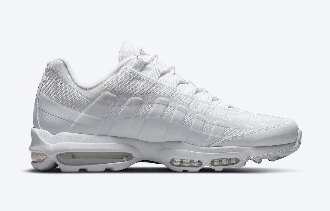 Nike Air Max 95 White Laser Blue DM2815-100 Release Date Info