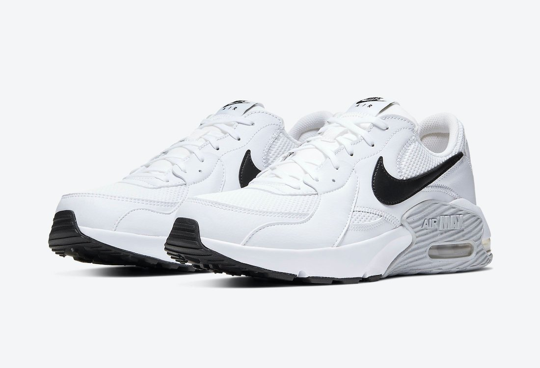 Nike Air Max Excee White Pure Platinum Black CD4165-100 Release Date Info