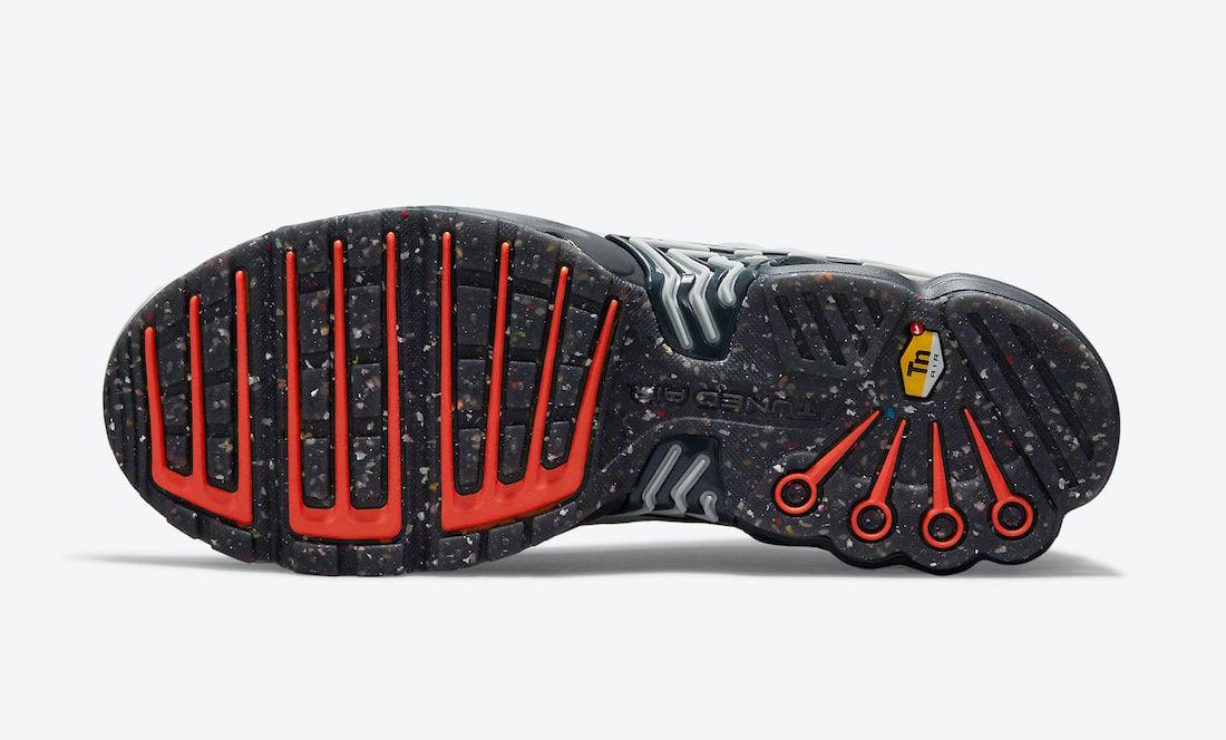 Nike Air Max Plus 3 Grey Navy Orange DM2560-001 Release Date Info