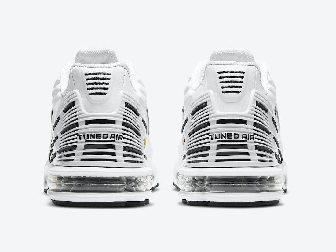 Nike Air Max Plus 3 White Black CK6716-100 Release Date Info