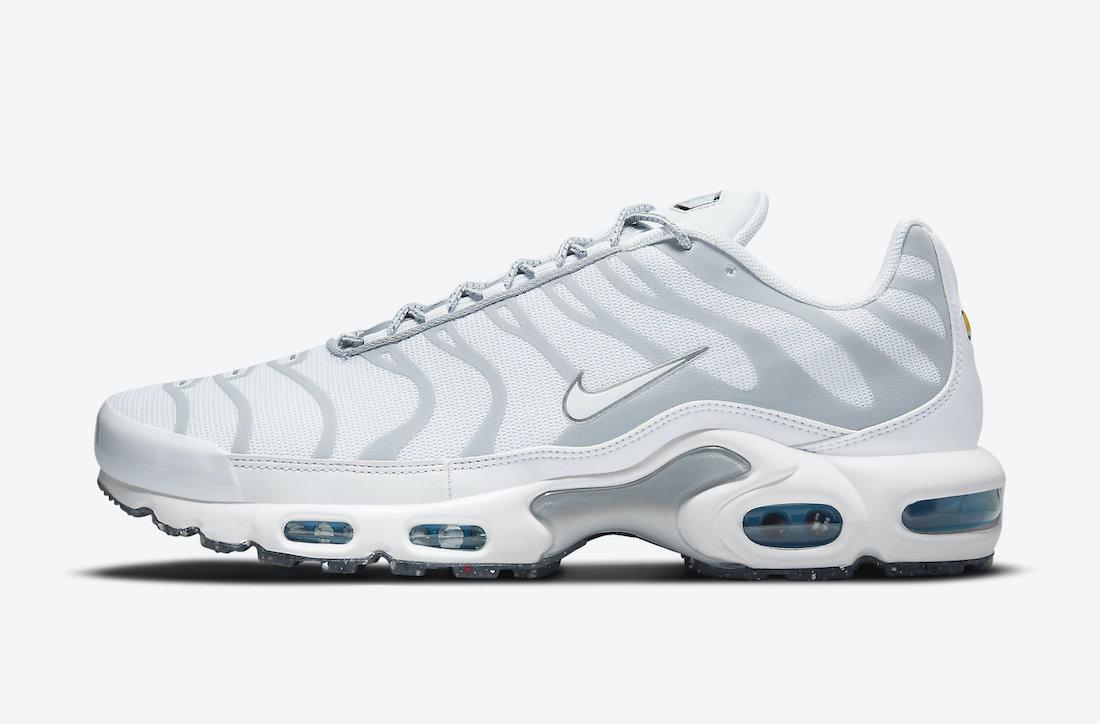 Nike Air Max Plus White Grey DM2466-100 Release Date Info