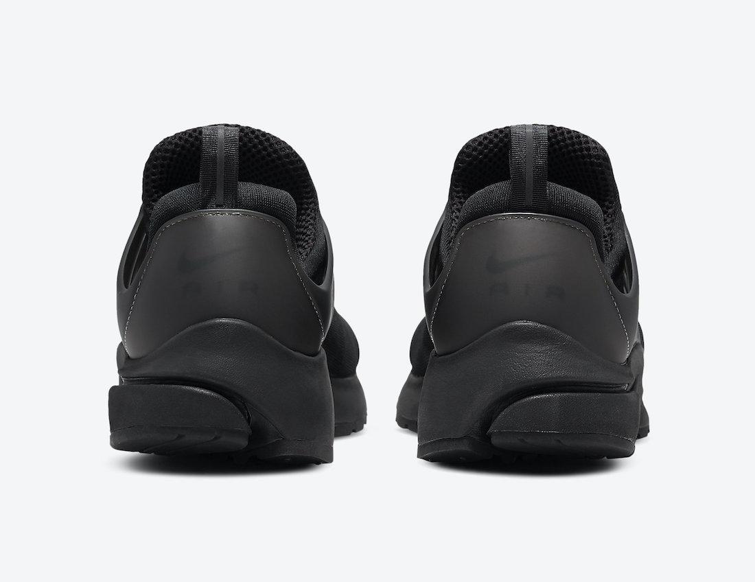 Nike Air Presto Triple Black CT3550-003 Release Date Info