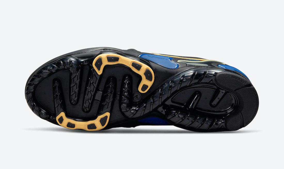 Nike Air VaporMax EVO Black Blue Yellow CZ1924-001 Release Date Info
