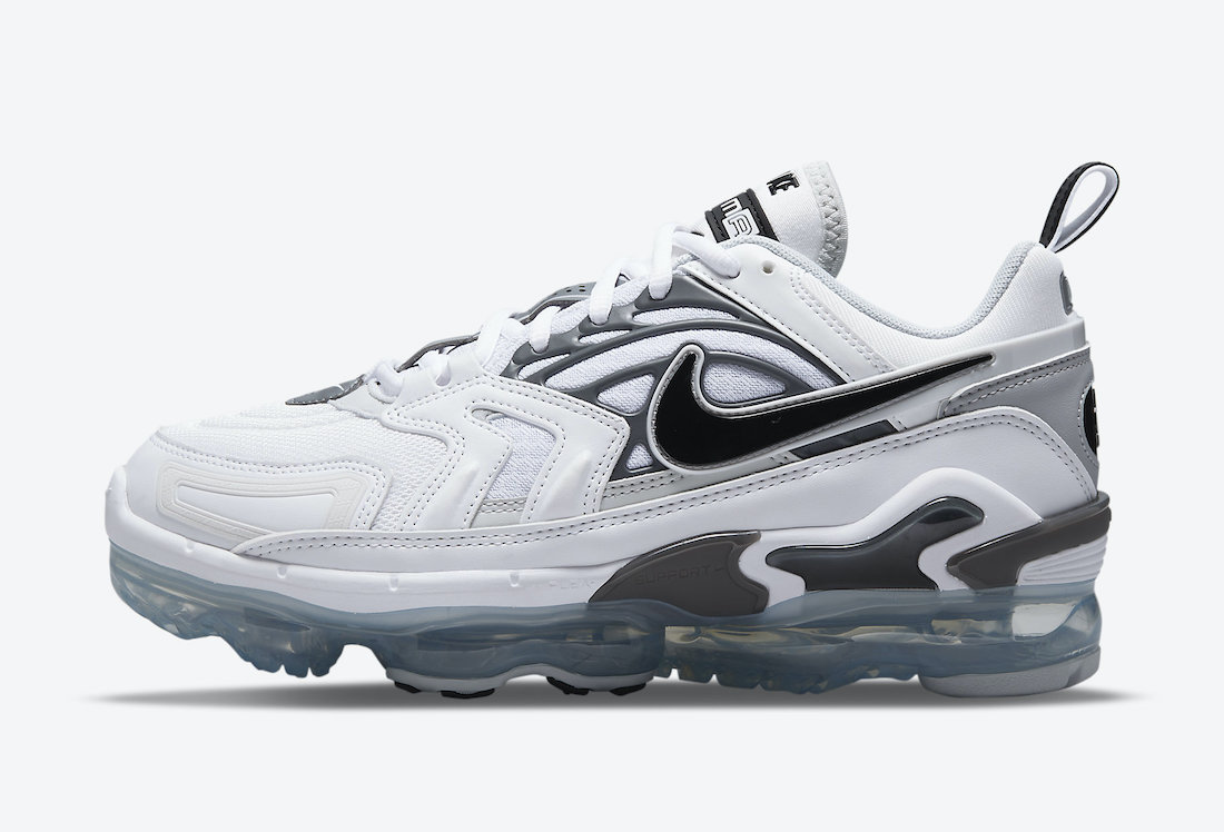 Nike Air VaporMax EVO White Grey Black CT2868-100 Release Date Info