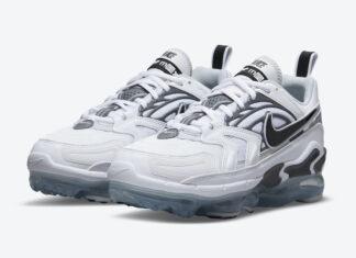 Nike Air VaporMax EVO White Grey Black CT2868-100 Release Date Info