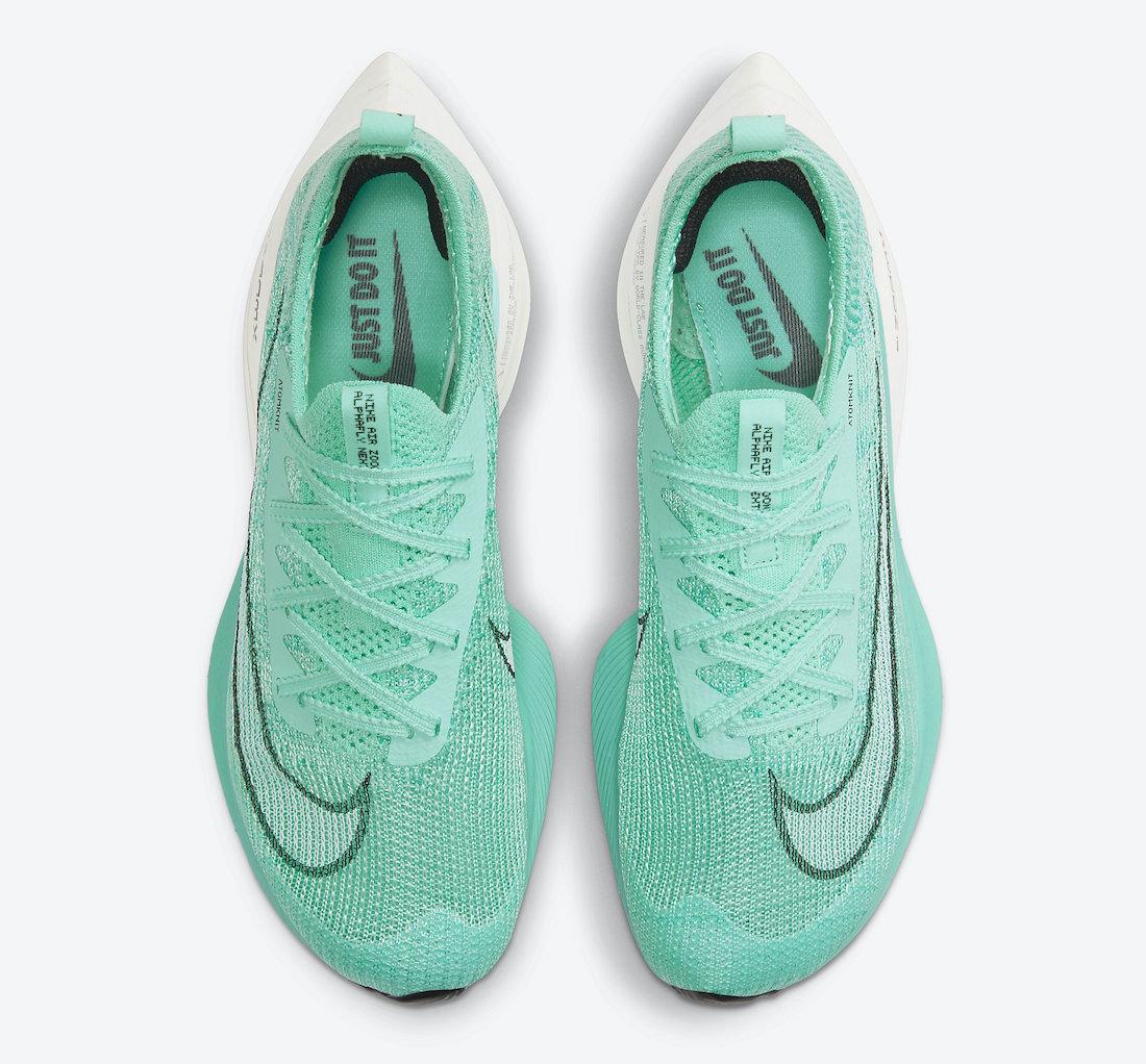 Nike Air Zoom AlphaFly NEXT% Mint Green CZ1514-300 Release Date Info
