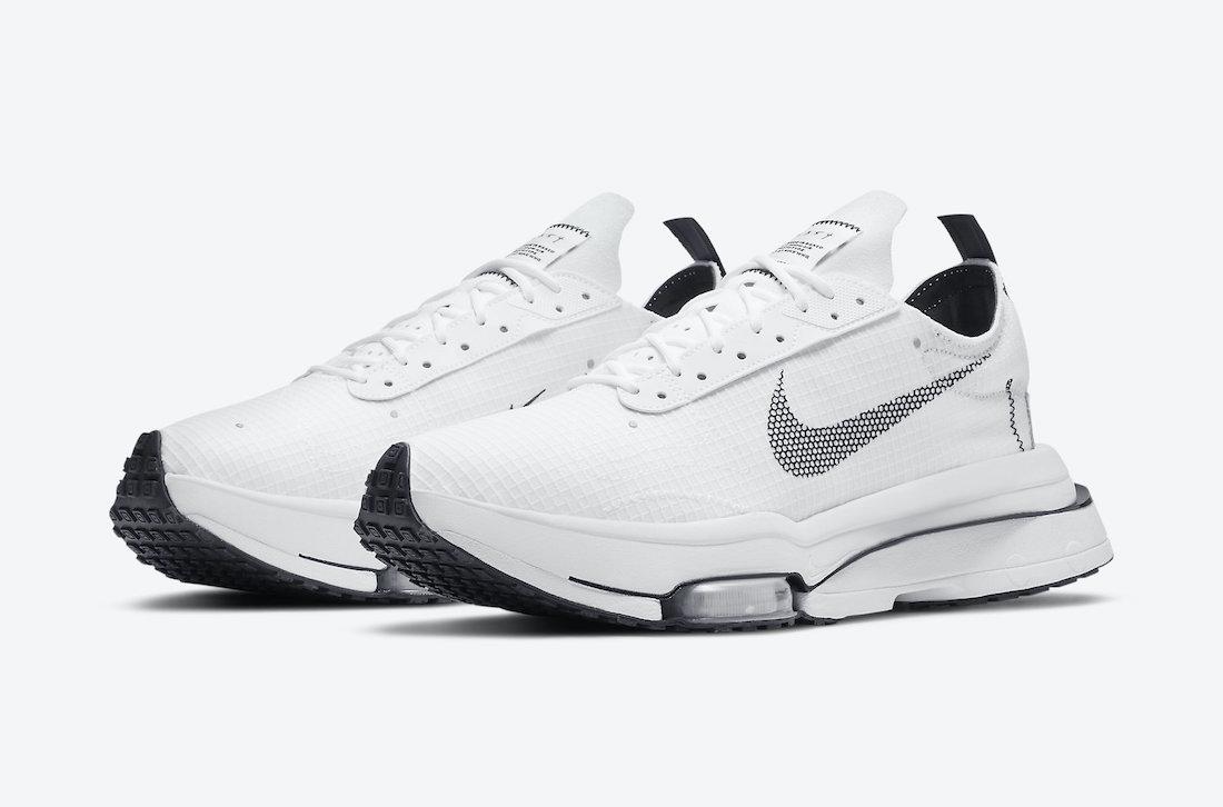 Nike Air Zoom Type White Pure Platinum Black CV2220-100 Release Date Info