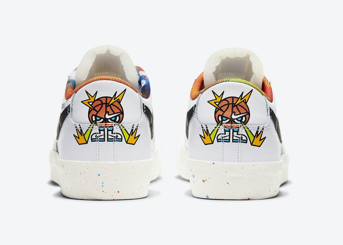 Nike Blazer Low 77 Basketball DJ4279-101 Release Date Info