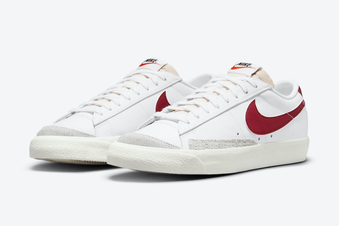 Nike Blazer Low Team Red DA6364-102 Release Date Info
