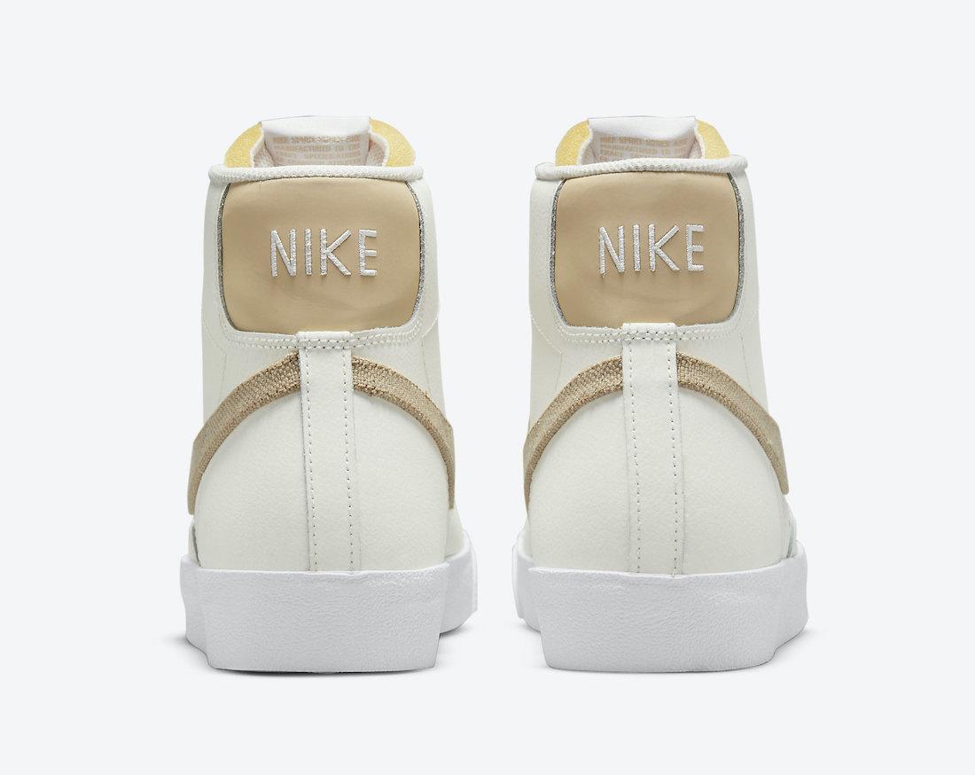 Nike Blazer Mid 77 Cream Grey Tan DH4106-100 Release Date Info