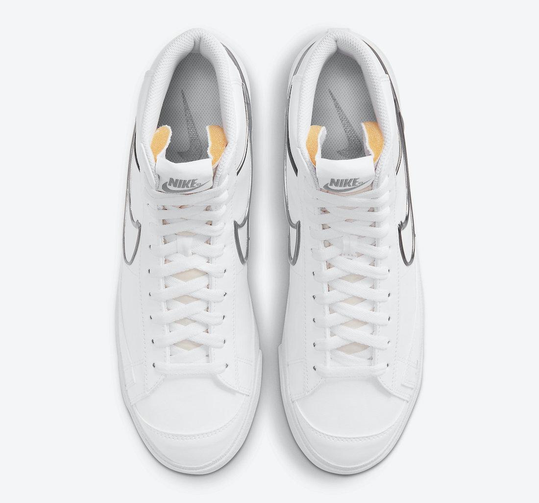 Nike Blazer Mid 77 Metallic Pewter DH4099-100 Release Date Info