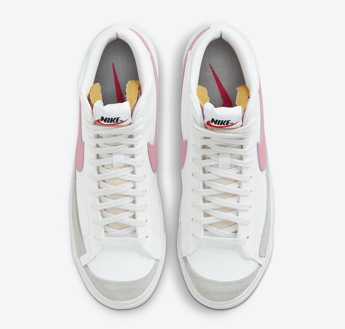 Nike Blazer Mid 77 Sunset Pulse CZ1055-114 Release Date Info