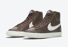 Nike Blazer Mid Coffee DD5332-244 Release Date Info