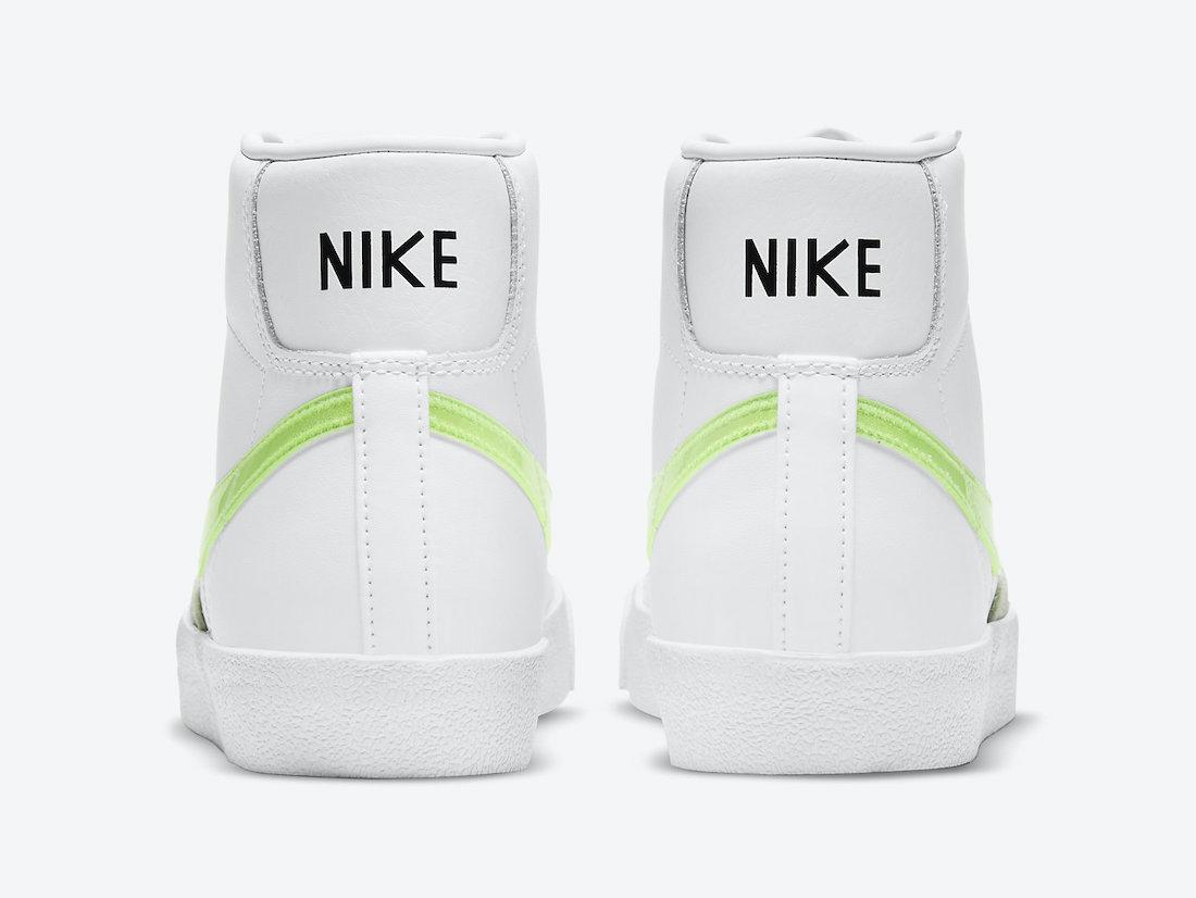 Nike Blazer Mid Green Swoosh DJ3050-100 Release Date Info