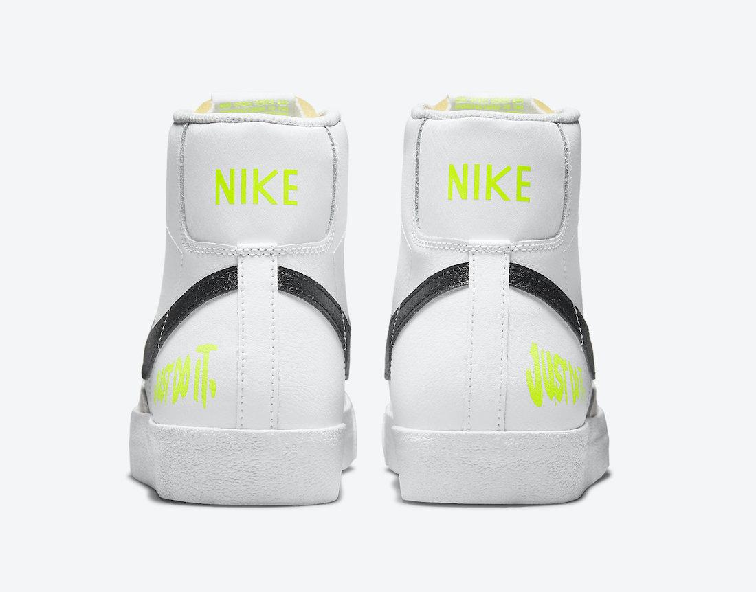 Nike Blazer Mid Just Do It DM2834-100 Release Date Info