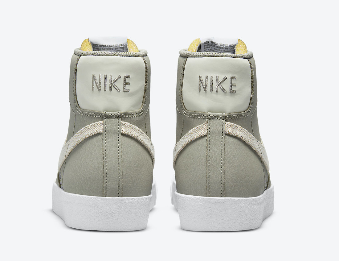 Nike Blazer Mid Olive White DH4106-300 Release Date Info
