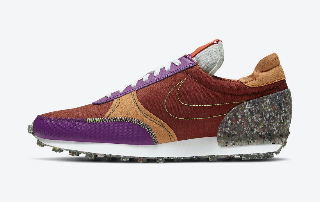 Nike Daybreak Type Rugged Orange CW6915-800 Release Date Info