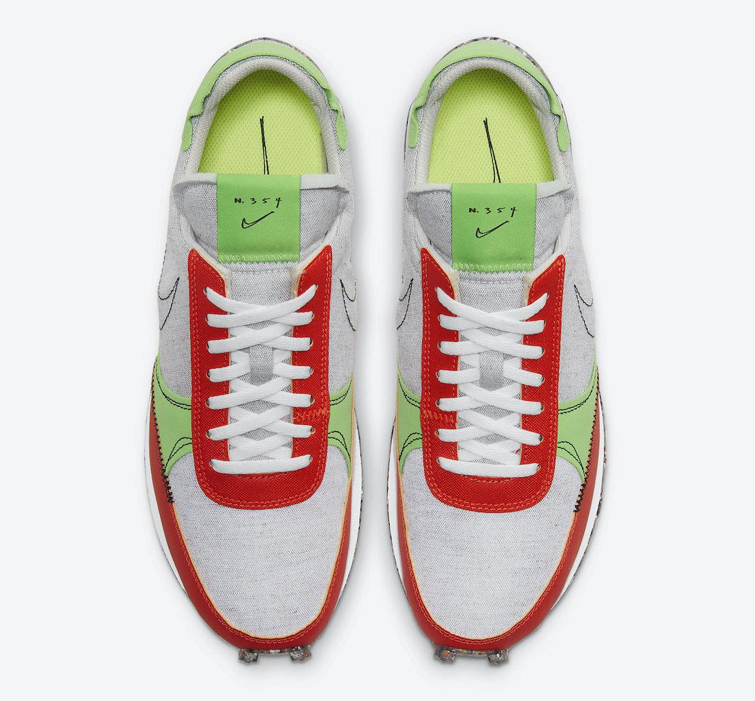 Nike Daybreak Type Team Orange CW6915-001 Release Date Info
