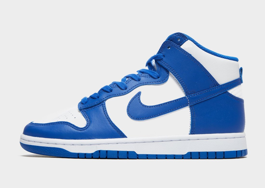 Nike Dunk High Game Royal DD1399-102 Release Date