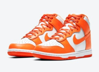 Nike Dunk High Orange Blaze Syracuse DD1869-100 Release Date