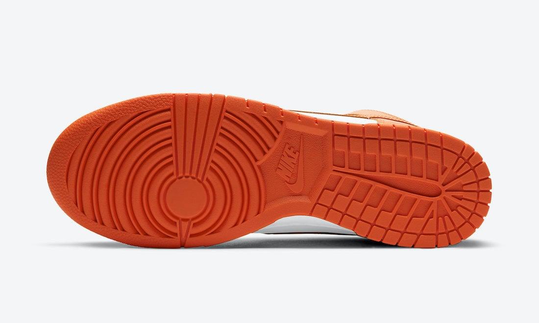 Nike Dunk High Syracuse DD1399-101 Release Date