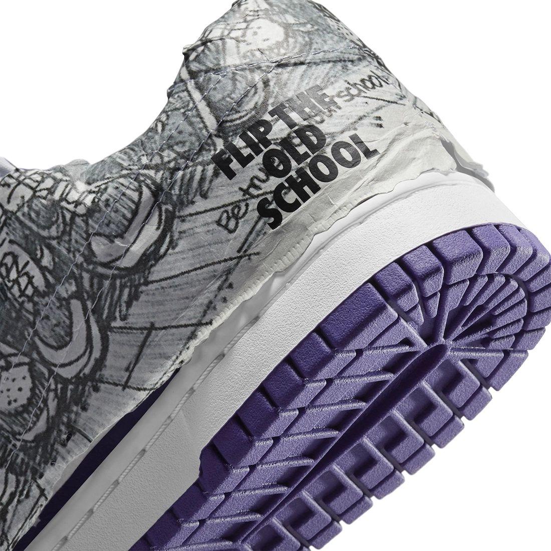 Nike Dunk Low Flip The Old School Release Date Info